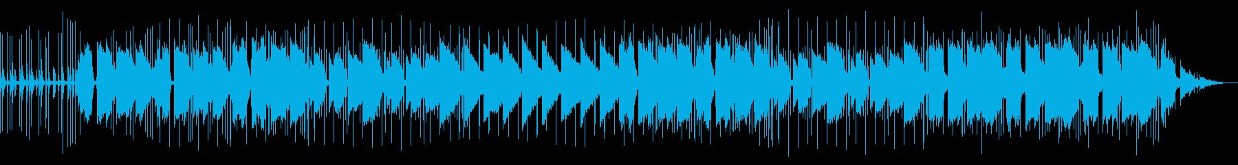 ギター lo-fi vlogにぴったりの再生済みの波形