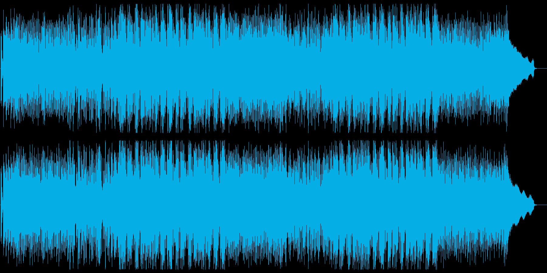 爽やかな80年代風シティポップ 歌ありの再生済みの波形