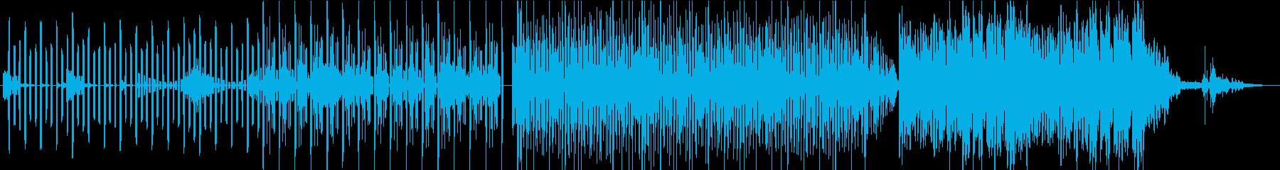 哀愁漂う電子音のワルツ作品の再生済みの波形