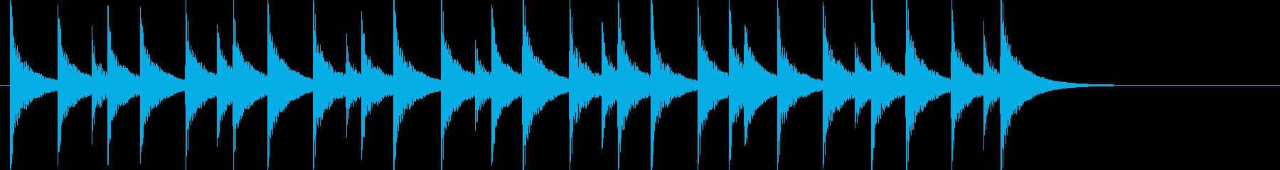 大太鼓38ドーンドストドン陣太鼓戦い侍刀の再生済みの波形