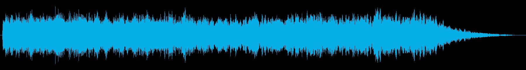 トランジション パッドスイープベント03の再生済みの波形