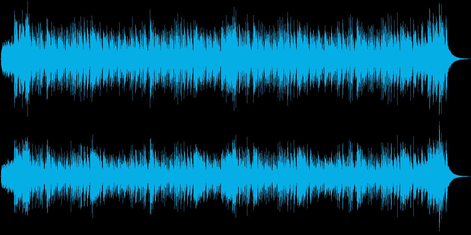 シンセブラスのソリッドなジングルCMにもの再生済みの波形