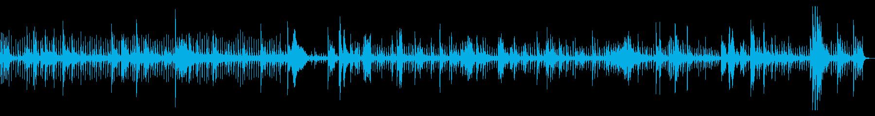 カフカ 海辺 ピアノの再生済みの波形