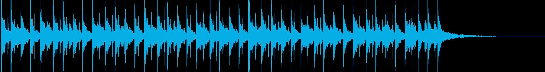 ギターとマリンバのちょっと不思議なんの再生済みの波形