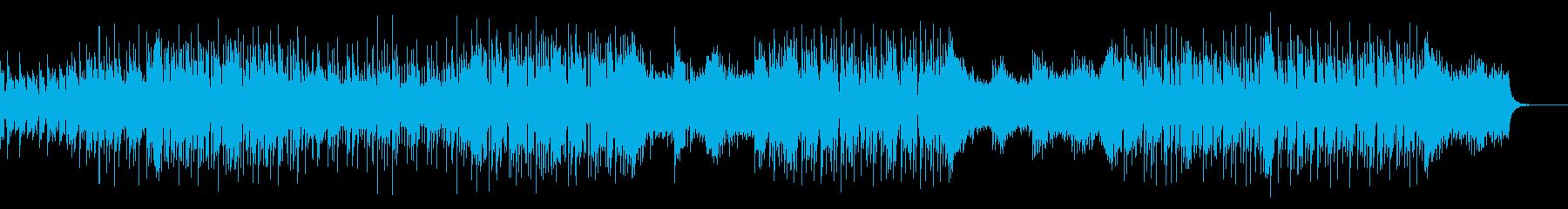 爽やかで切なく疾走感のある曲の再生済みの波形