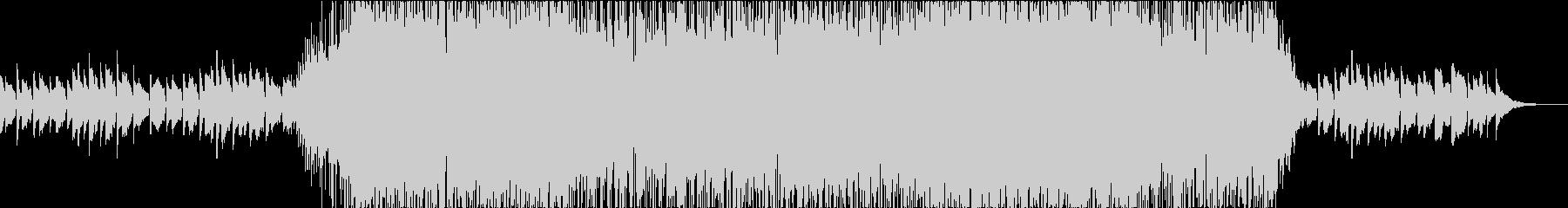 ジムノペディのメロディを引用したロックの未再生の波形