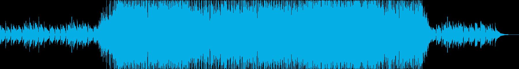 ジムノペディのメロディを引用したロックの再生済みの波形
