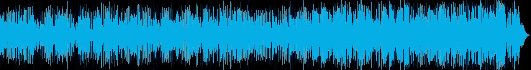 安らぎを与える優しいヒュージョン・ジャズの再生済みの波形