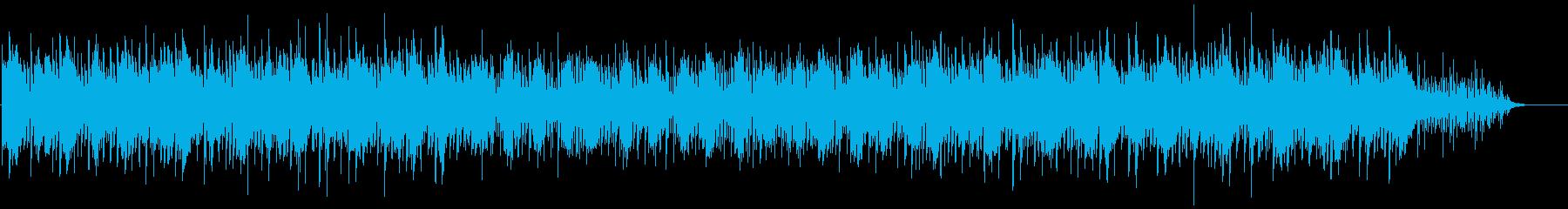 瑞々しさを感じさせる優しいBGMの再生済みの波形