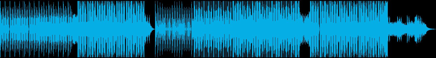 EDM、テンションアップの再生済みの波形