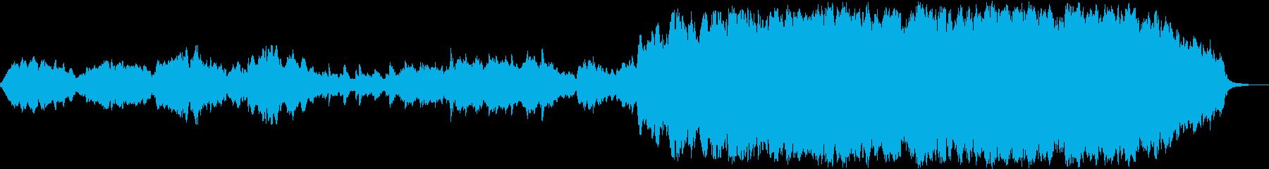 オーケストラによるバラード小品の再生済みの波形