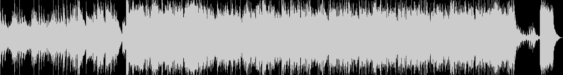 軽快なムード漂うBGMの未再生の波形