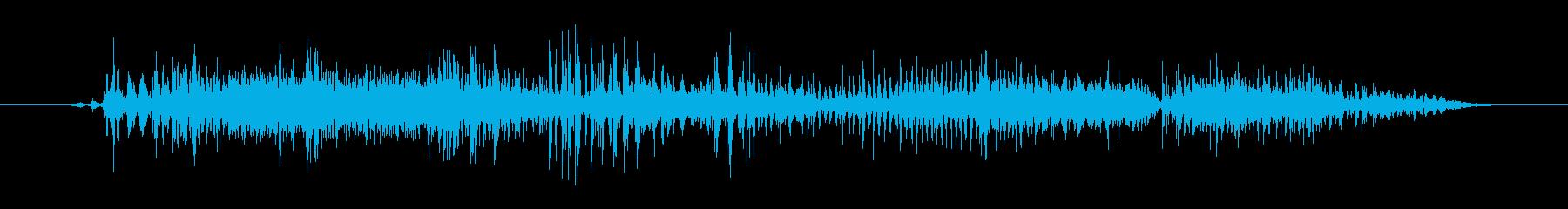モンスター 窒息ゾンビ06の再生済みの波形
