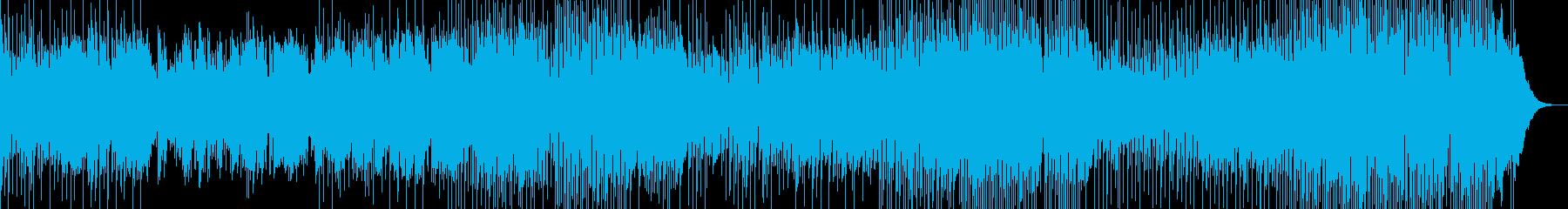ドラム、ベース、ピアノを伴う、アコ...の再生済みの波形