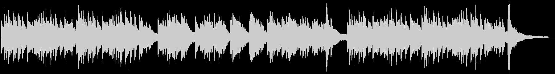 メロドラマ1(ピアノ)の未再生の波形
