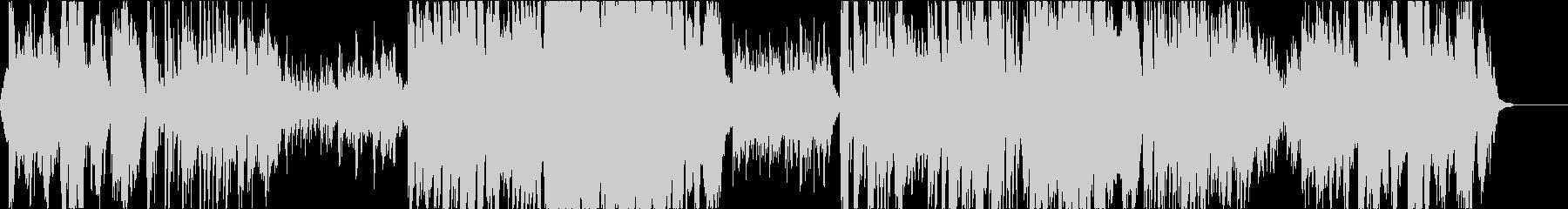 二胡の壮大で哀愁あるオリエンタルの未再生の波形