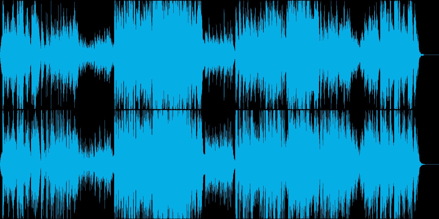 二胡の壮大で哀愁あるオリエンタルの再生済みの波形