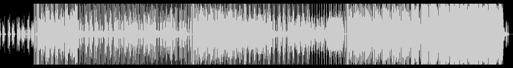 【メロディー無】70年代ファンクロック風の未再生の波形