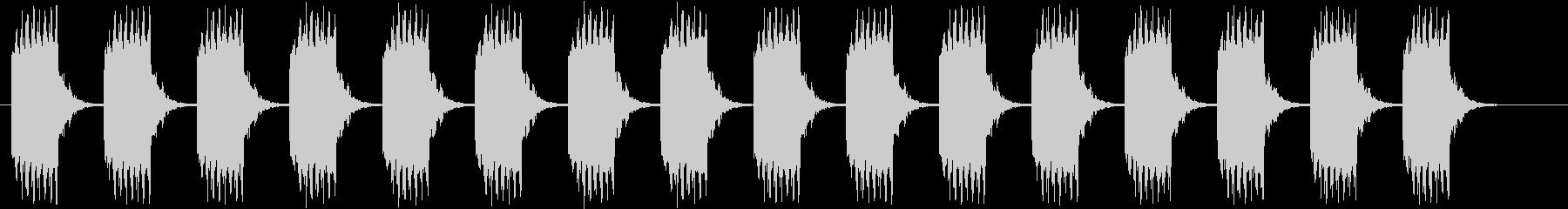 ブザー音ロング_リバーブ付きの未再生の波形