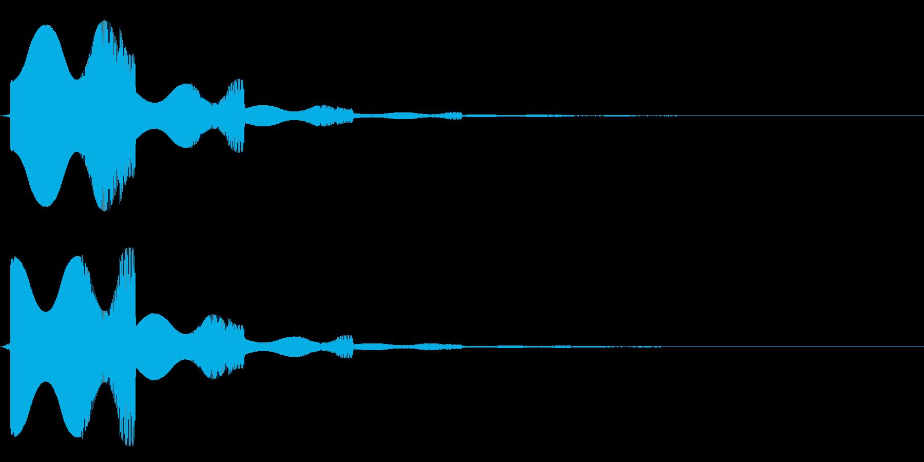 ピユポン・・の再生済みの波形