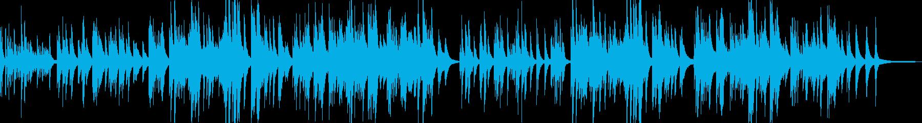 想い出アルバムにフィットするピアノ曲の再生済みの波形