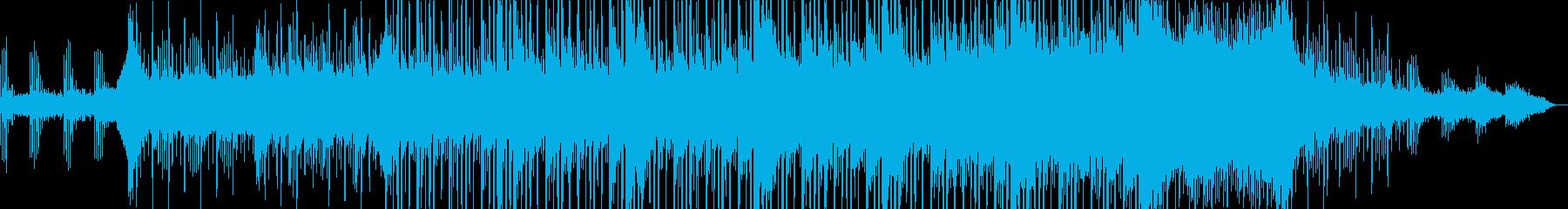 悲哀感のあるチルアウトサウンドの再生済みの波形