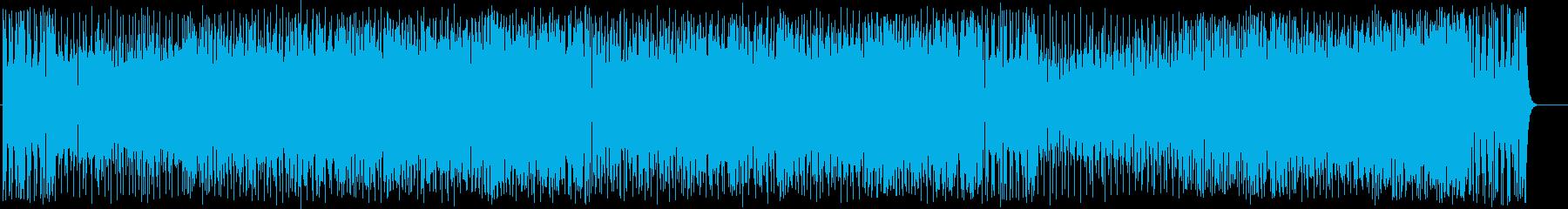エンディング・テーマ向けのフュージョンの再生済みの波形