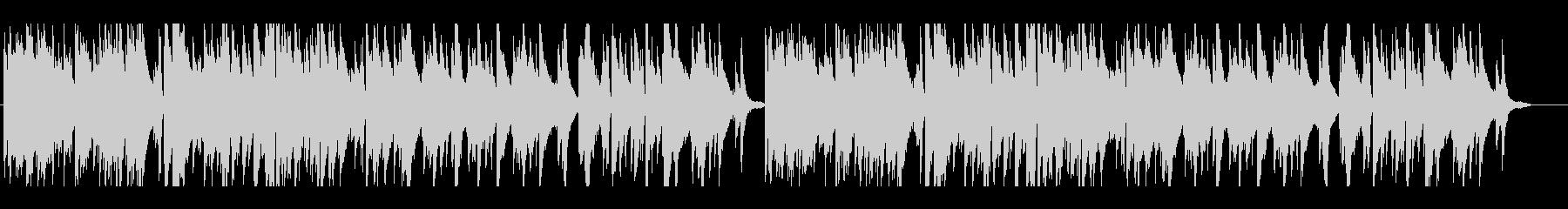 少しクラシカル風なポップスのピアノ曲ですの未再生の波形