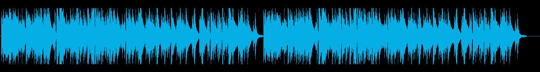 少しクラシカル風なポップスのピアノ曲ですの再生済みの波形