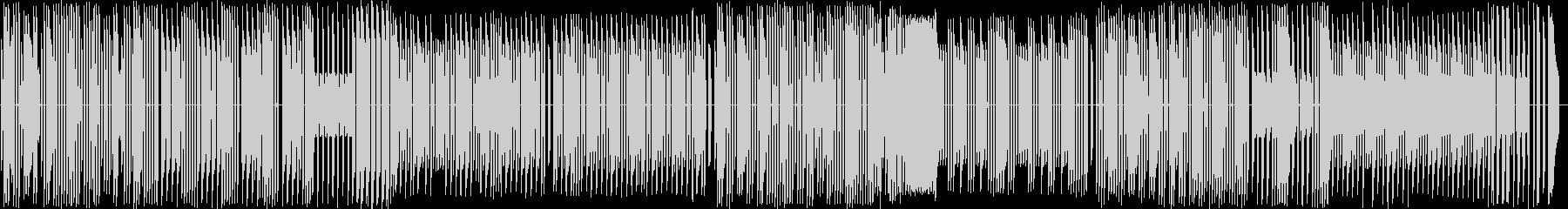KANT  天国と地獄 8bitサウンドの未再生の波形
