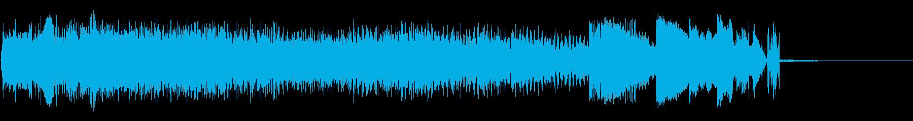 パワーサージの再生済みの波形