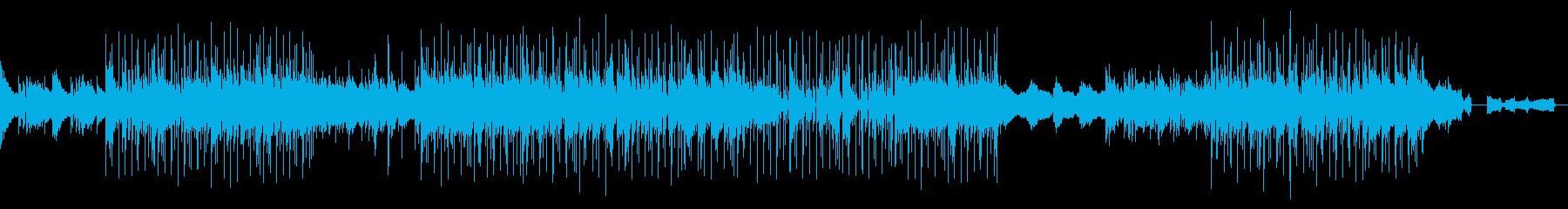 おしゃれなBGMですの再生済みの波形