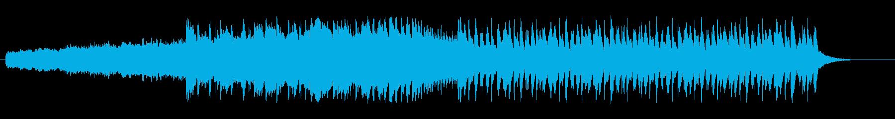 ファンファーレチックなファンクの再生済みの波形