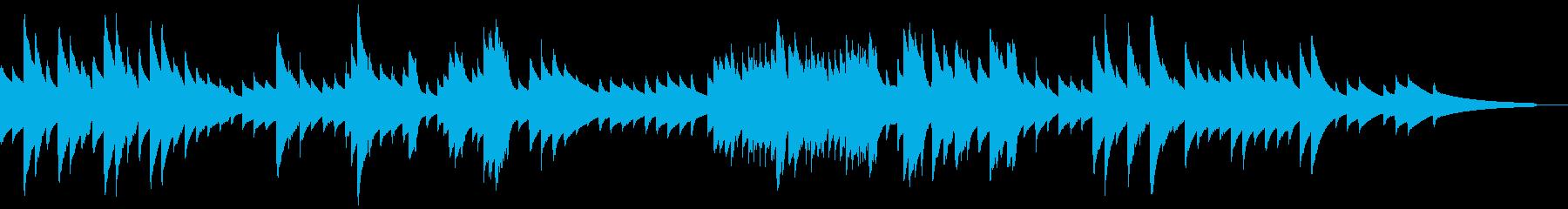 切なく優しいオルゴールの再生済みの波形