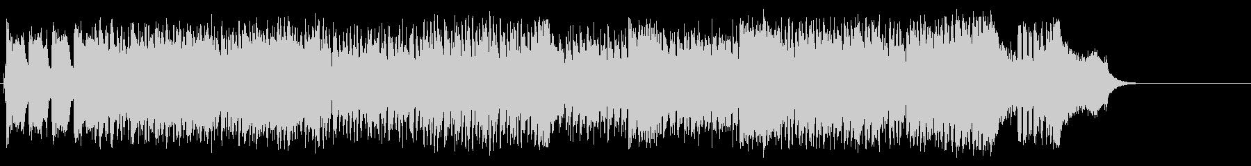 素敵なショータイムのアップテンポなポップの未再生の波形