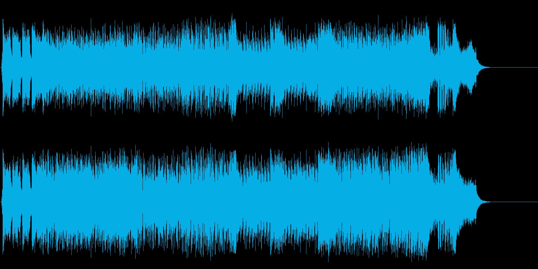 素敵なショータイムのアップテンポなポップの再生済みの波形