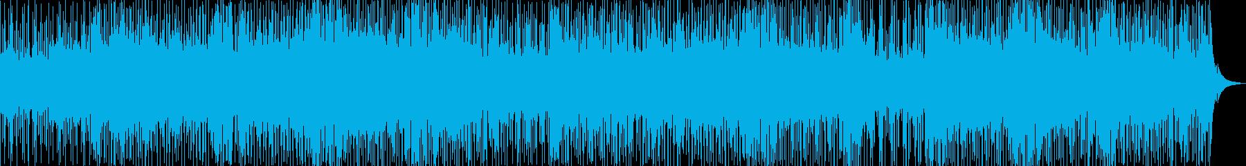 軽快なアコースティックダンスフュージョンの再生済みの波形