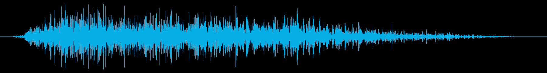 ワーム モンスター ゲーム 死亡時の再生済みの波形