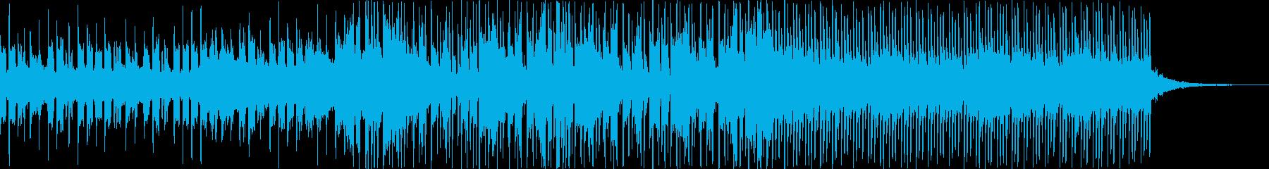 エレクトロニック 技術的な ポジテ...の再生済みの波形