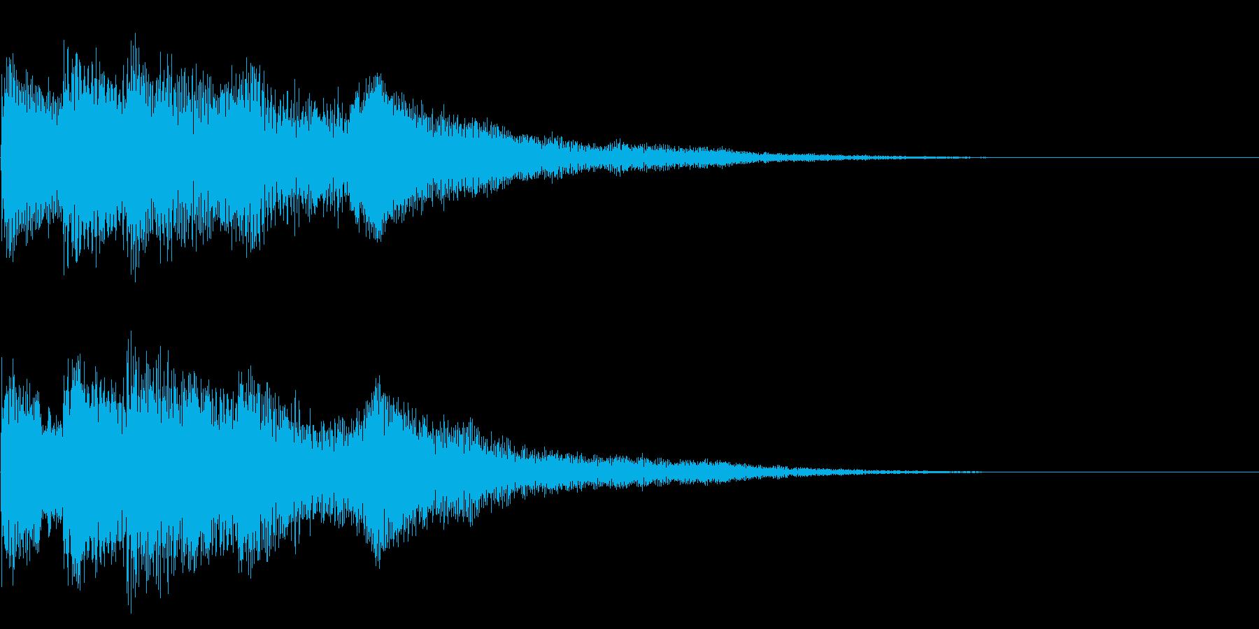 チャイム 3の再生済みの波形