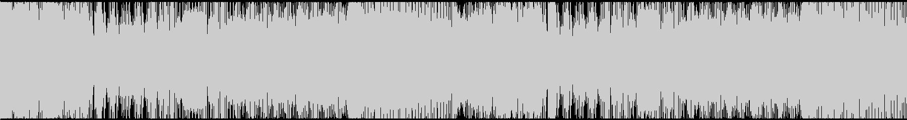 かわいいホラー調オーケストラ・ハロウィンの未再生の波形