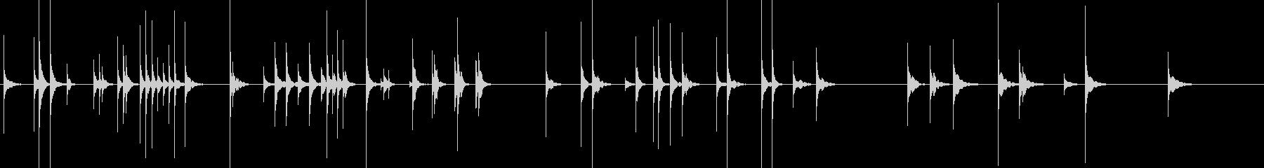 フレクサトーン3お化けコメディコント気持の未再生の波形