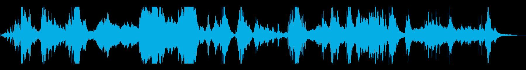夜空・星・叙情 優しく幻想的なピアノソロの再生済みの波形