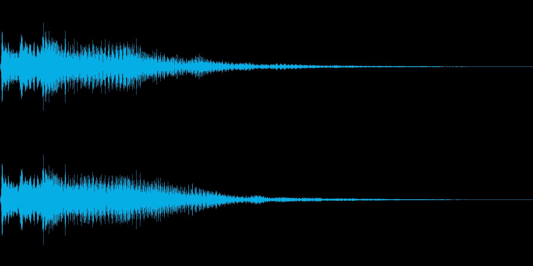 瞑想・幻想的2 スティールタングドラムの再生済みの波形