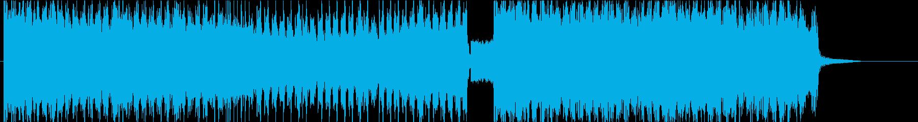 ひたすら激しいメタルロック Bの再生済みの波形