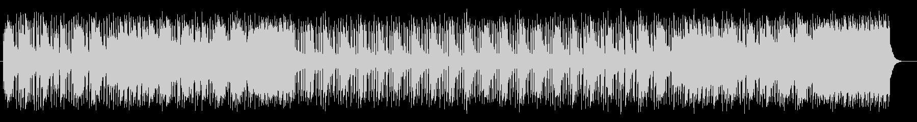 ピアノのイージーリスニング曲の未再生の波形