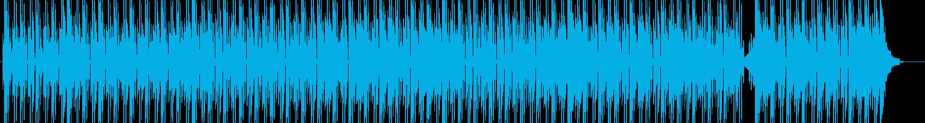 電気楽器。弾力のあるビート、風変わ...の再生済みの波形