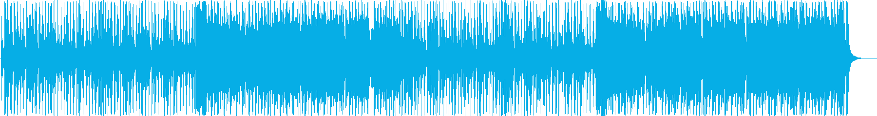 Christmas cute pop music's reproduced waveform