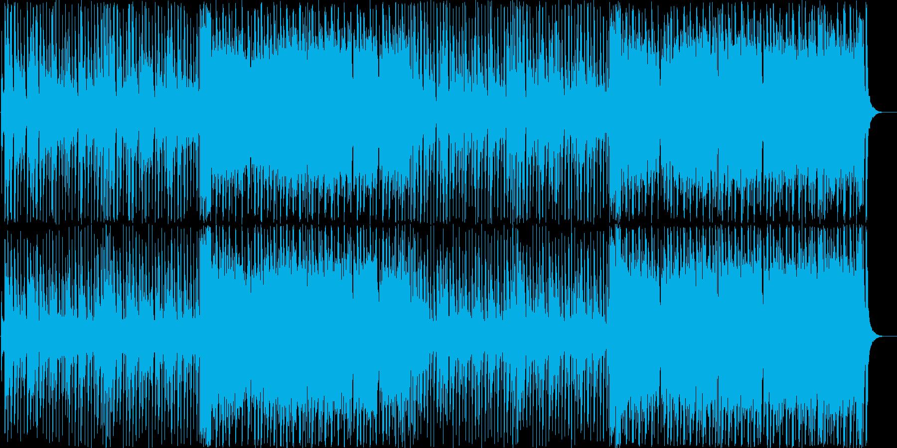 クリスマスのキュートなポップミュージックの再生済みの波形