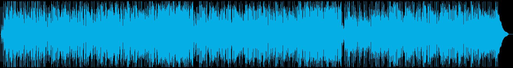 ロックバンド・80年代ドラマオープニングの再生済みの波形